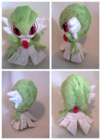 Chibi gardevoir plush by LRK-Creations