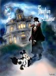Count Mickey Dragul- the Phantom Manor by twisted-wind
