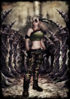 Sonya Blade in Underworld by deexie