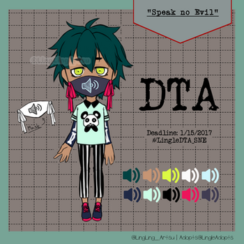 | DRAW TO ADOPT| Speak no Evil | NOW AIRING by LingLingArtsu