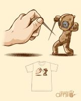 Fencing Voodoo Threadless by AlbertoArni