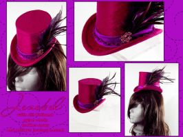 Jezabel - Mini Top hat by Elemental-Sight