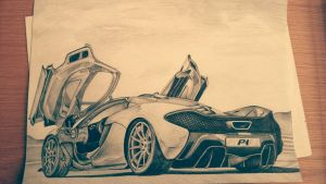 mclaren p1 by stephenkilcullen