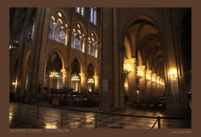 Notre Dame Interior by JQ444