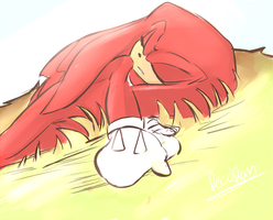 Knuckles by deooART