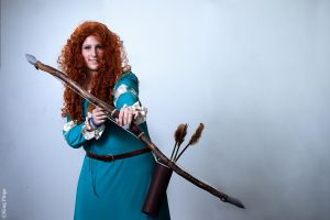 Merida From the Brave by Kngpinga