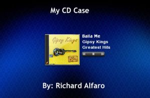 My CD Case by elralfaro