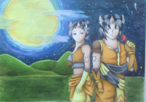 Request - Tieh and Tao by Sahnie