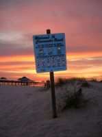 Welcome To Clearwater Beach by Rachaels