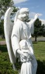 Mount Olivet Cemetery Guardian Angel 269 by Falln-Stock