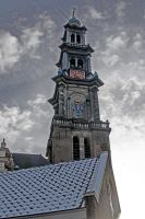 Church Spier Amsterdam by bladz56