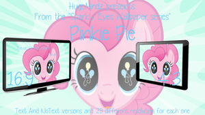 Sparkly Eyes Wallpaper - Pinkie Pie by HugoMndz