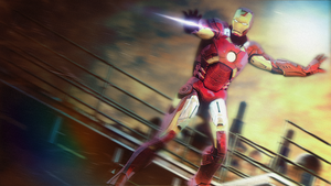 Iron man - the man in the dangerous mission by WeskerFan1236