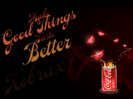 Coke wallpaper by Kobraxxx