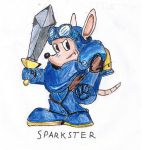 Sparkster: RKA by Blonde-guy-Artist