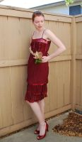 Red Dress Stock 11 by chamberstock