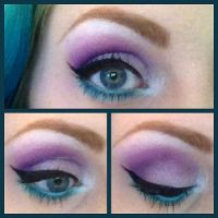 Smokey Purple and Teal by Miss-Reptilian