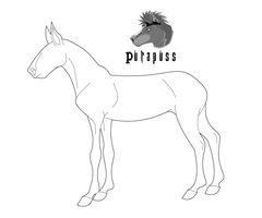 Design a Horse - Side View by purapuss