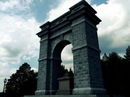 The Memorial Arch III by LoveEqualsArt