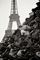 Pyramide de chaussures by Nile-Paparazzi