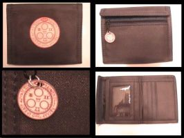 Halo of the Sun Wallet - Black by YourRain