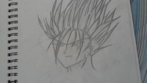 new dragon ball z character by Rinakishi