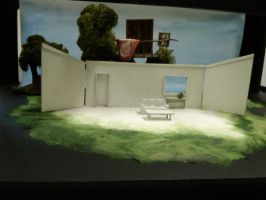 The Clean House: Set Design1 by Estel