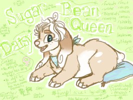Sugar Bean Daisy Queen by CaptainAley
