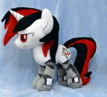 Blackjack Plushie :Commission: by AppleDew