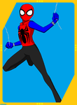 SPIDER Agent of SHIELD Spider-Man Unlimited card by Viewer934