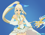 Tales of Zestiria - Kamui Rose with Mikleo by Hevelyn93