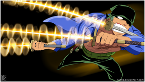 Roronoa Zoro's Breakthrough by Rahlie