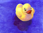 Little duck by wee-axolotl