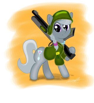 Crusader Silver Spoon (No Glasses) by StormyTheTrooper