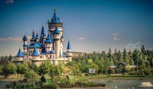 Fairy Tale Castle 4 by seth2012chaos