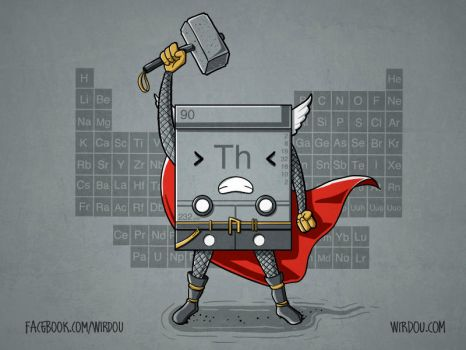 Thor(ium) - The Chemical Avengers #2 by WirdouDesigns