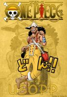 One piece 598 599 Usopp by Natalya-Ru