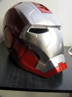 Iron man Mark V helmet by NMTcreations