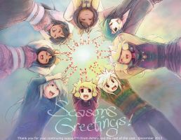 Seasons Greetings 2013 by Achiru-et-al