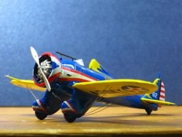 Boeing P-26 Peashooter by XJleiu