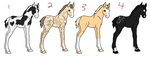 OPEN- Horse Adopts by Anileu