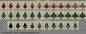 BSG CMC Rank pins by Wolff60