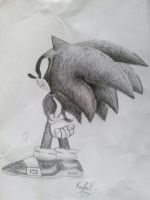 Sonic the hedgehog by horseylove91