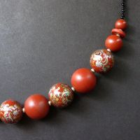 Dutch Flourish Beaded Necklace by Gilliauna