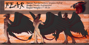 Ref Sheet Comish - Fear by TwilightSaint
