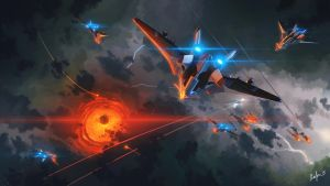 Aerial Strike by LordDoomhammer