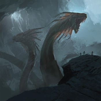 Lair of the Hydra by Zen-Master