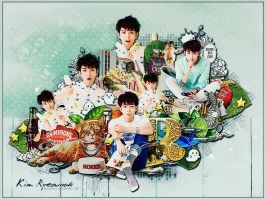 HBD Kim Ryeowook by Bellacrix