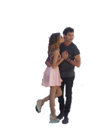 Tini y diego png by Noroboenserio