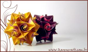 Brown curlers by KarenKaren
